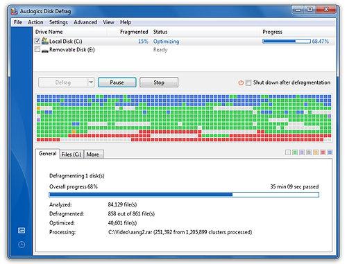 phần mềm chống phân mảnh ổ cứng win 8-0