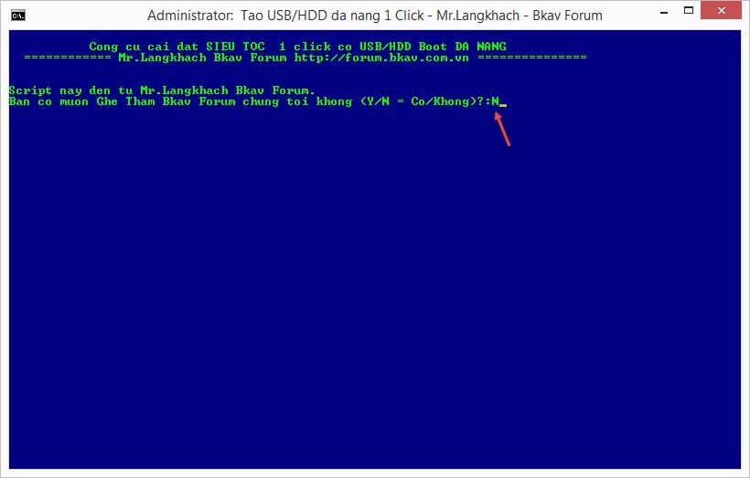 tạo usb boot đa năng với 1 click-0