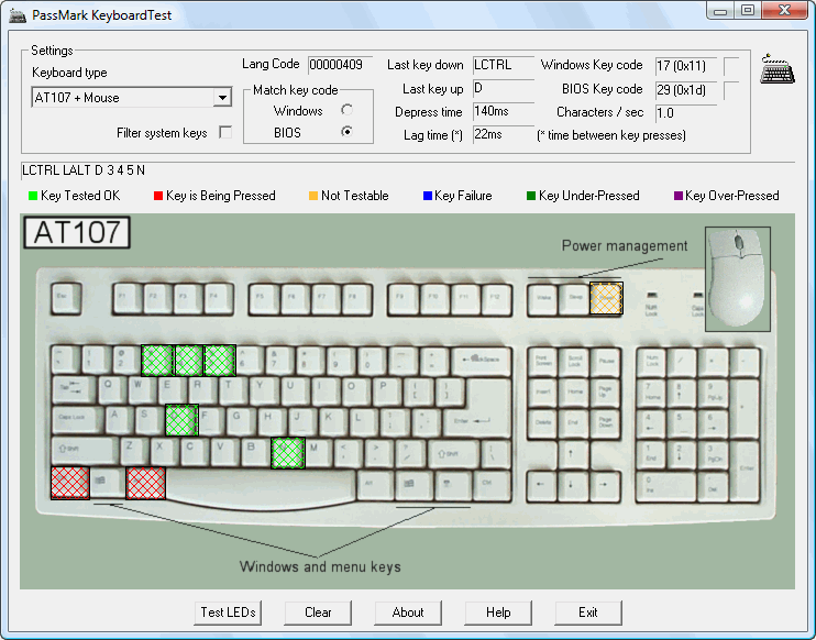test keyboard online-0